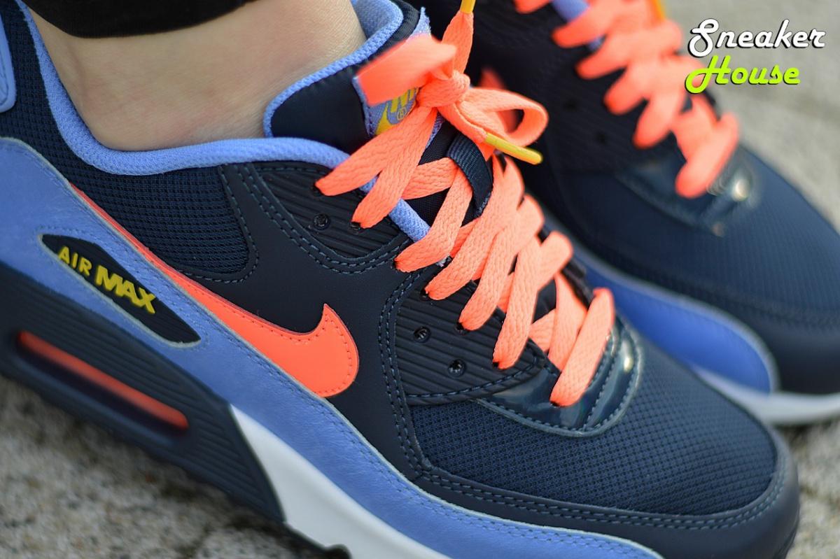 aeciw Nike Air Max 90 Mesh GS (724855-408) Women\'s/Junior Sneakers | eBay
