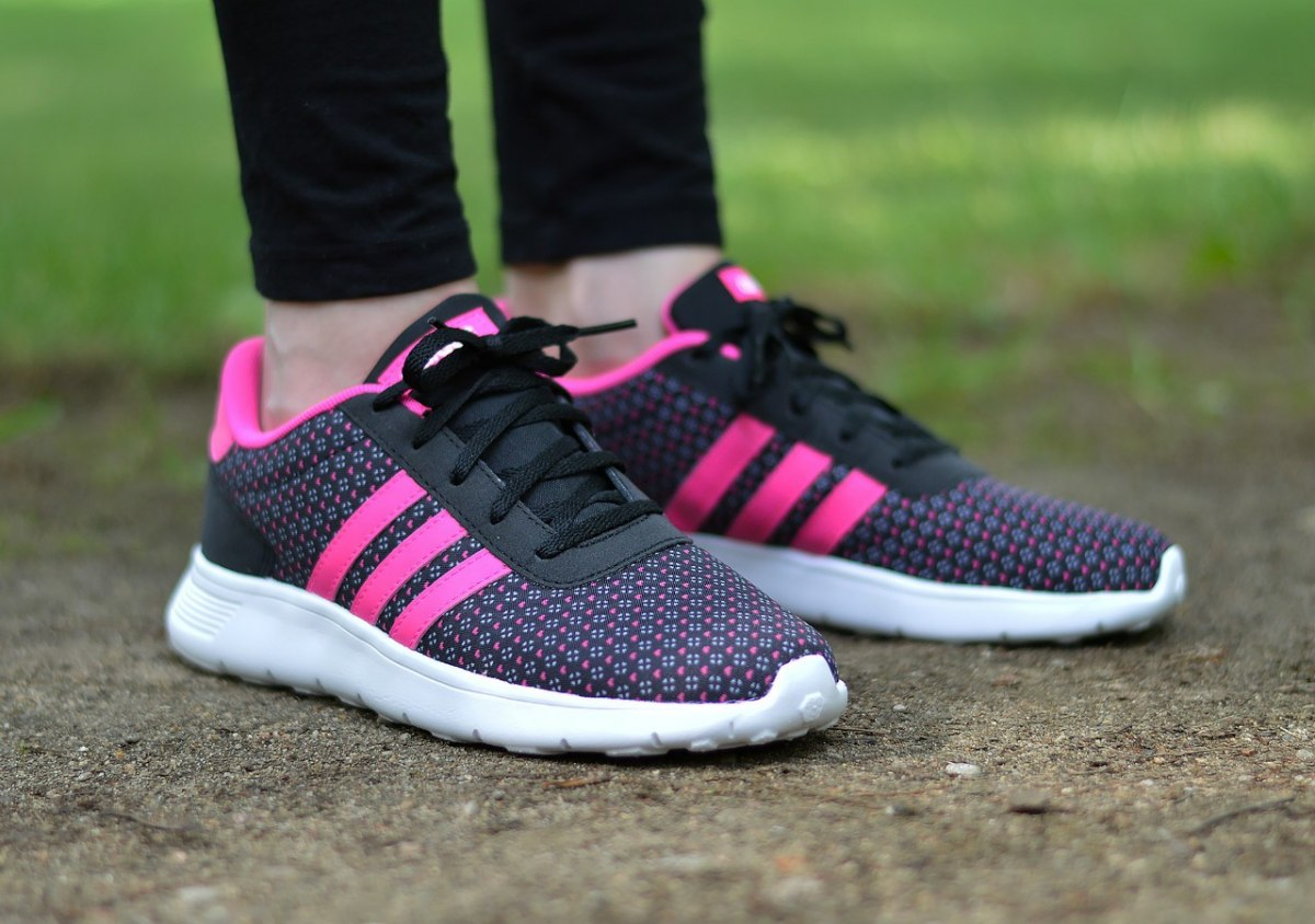 adidas lite racer k aw5122 junior women 39 s sneakers ebay. Black Bedroom Furniture Sets. Home Design Ideas