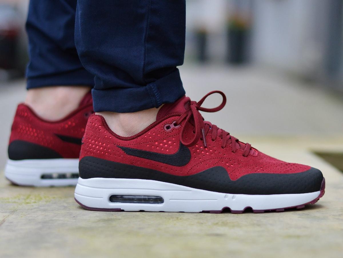 magasin en ligne 110b0 3aaea Details about Nike Air Max 1 Ultra 2.0 Moire 918189-600 Men's Sneakers