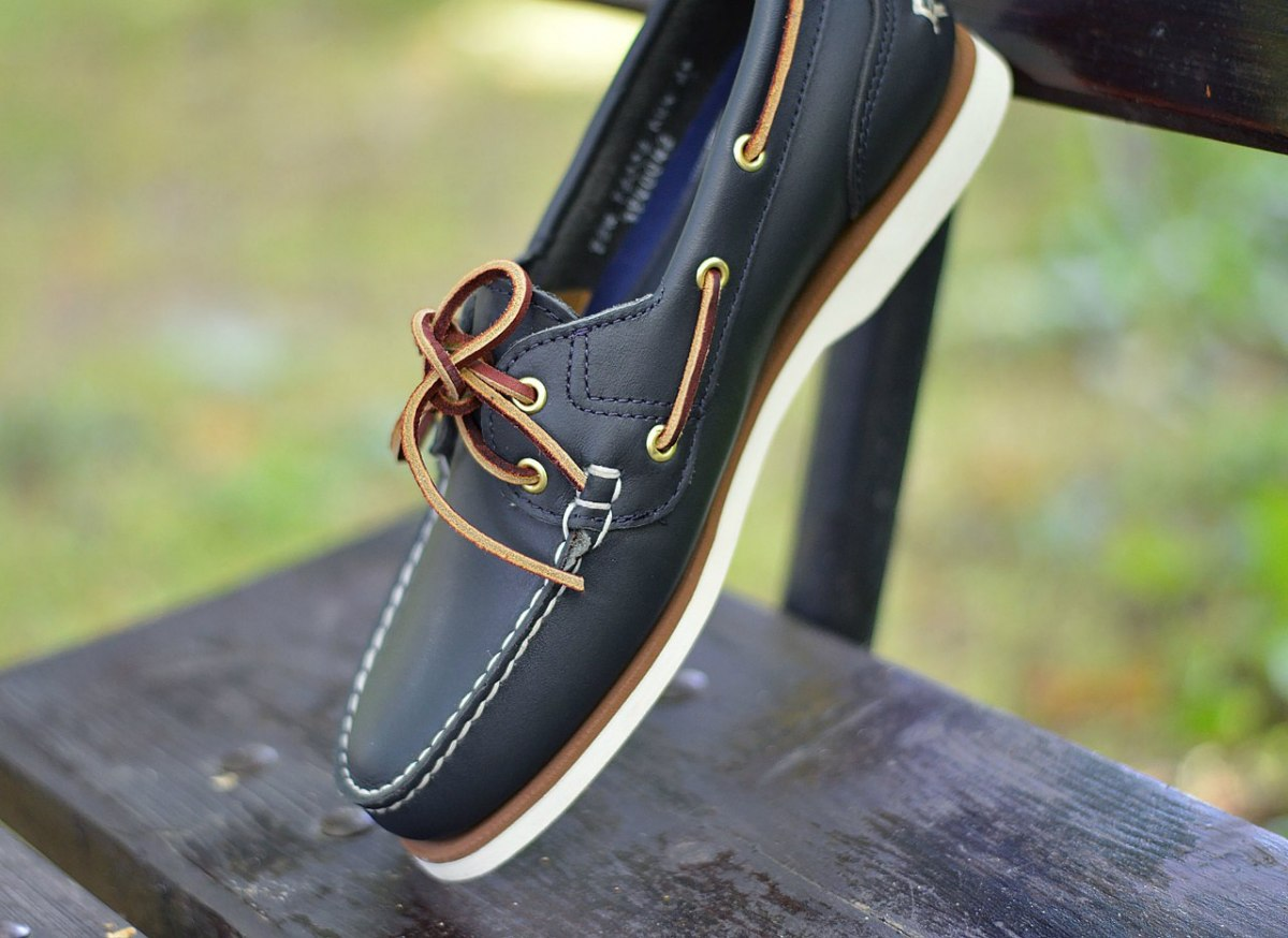 factory outlets best place limited guantity Details about Timberland Classic Boat 2 Eye 72332 Women's Shoes