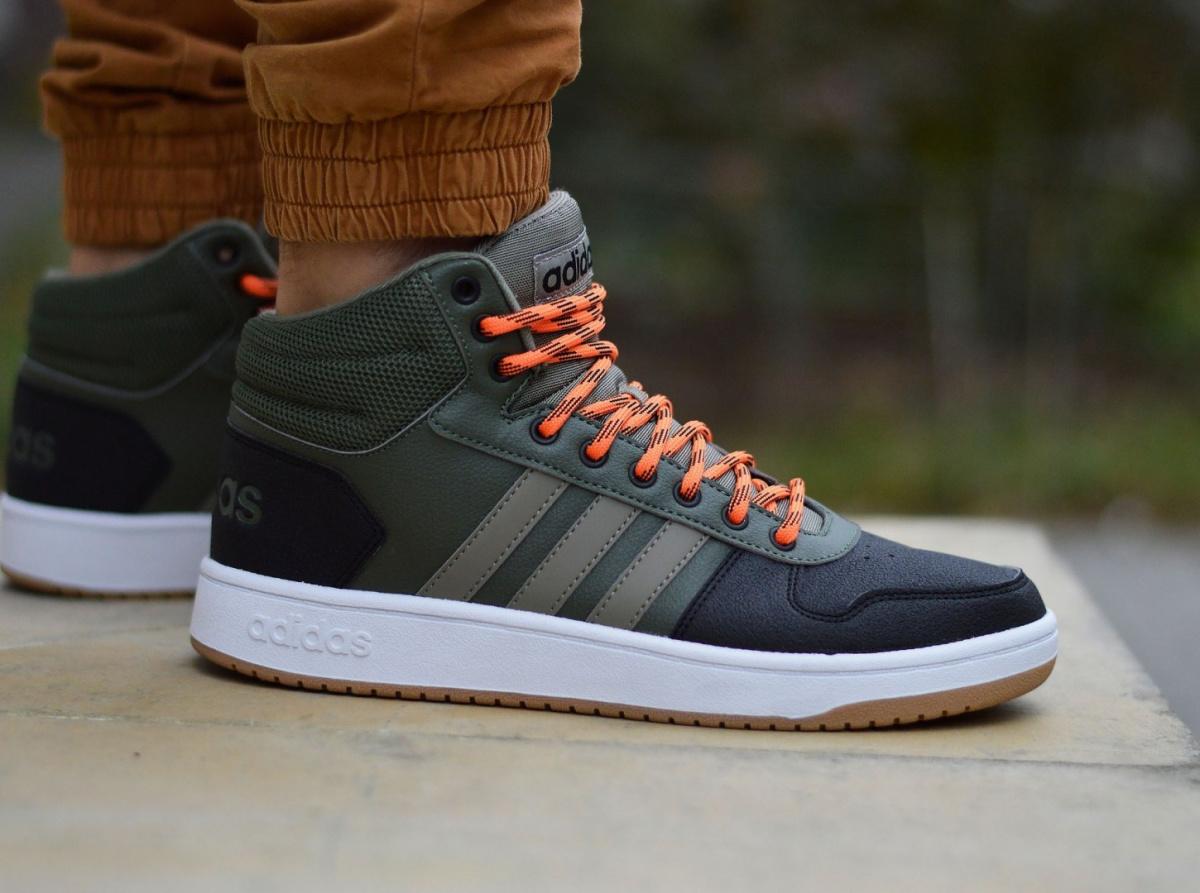 795742bacd415 Adidas Hoops 2.0 MID B44614 Men s Sneakers