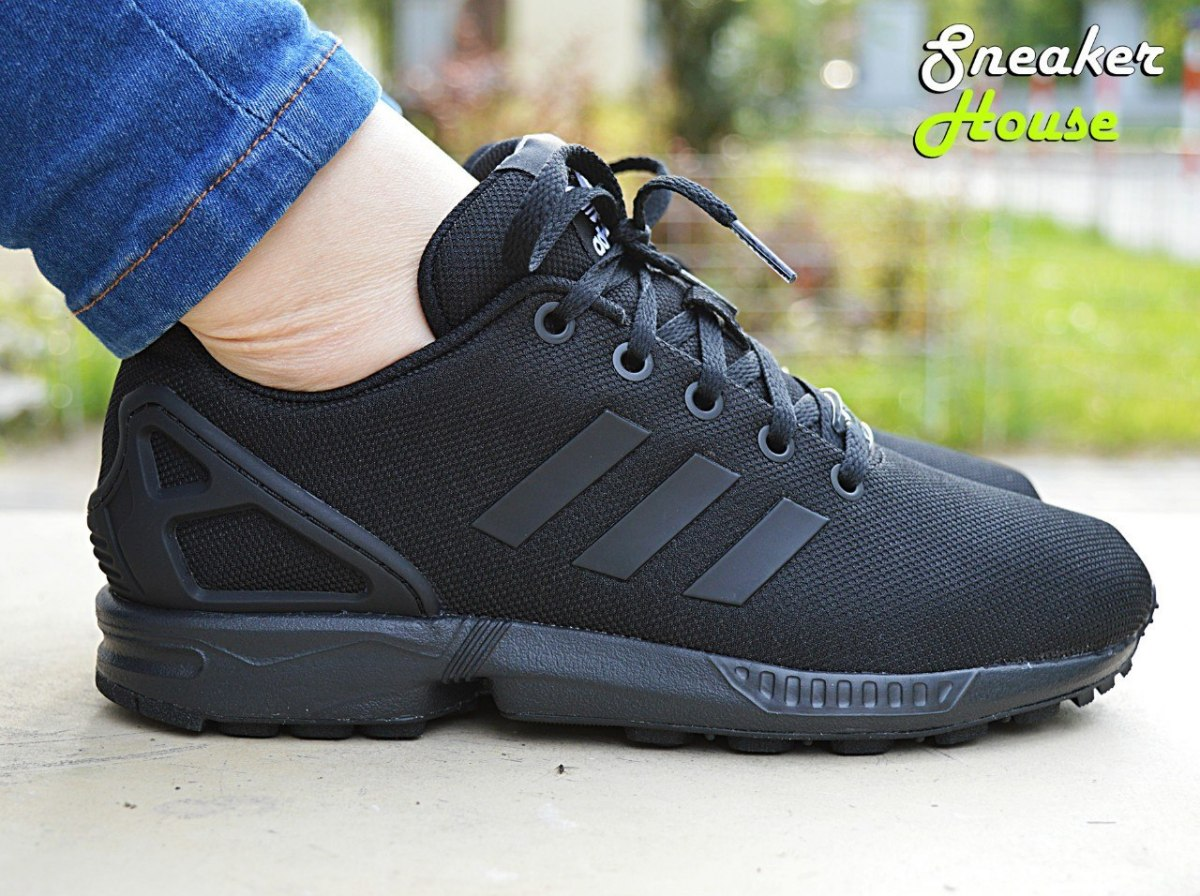 43db149d3ac0 Czarne damskie Adidas ZX Flux K – Sneakerhouse