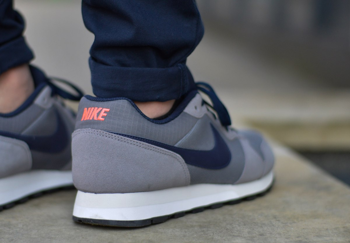 hot sale online ed9d6 ec8a5 Price62.00 GBP. Brand  Nike  Category  Sneaker  Colour  Grey  Insole  25 -  30.5 cm. Model  MD Runner 2 ...